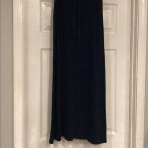 NYC Navy Blue Long Skirt